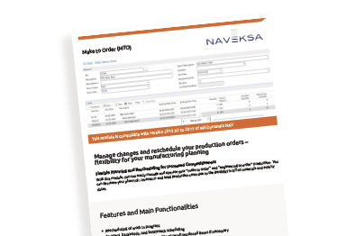 Brochure - MakeToOrder