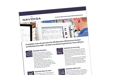 Download brochure - Overview of NAVEKSA products