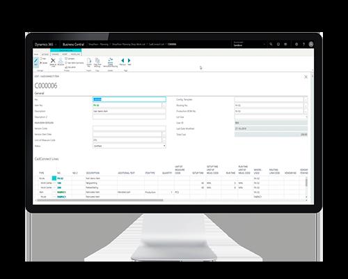 Med NAVEKSA CadConnect 365 kan du viderebearbejde produktkonstruktionsdata til produktionsdata
